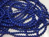 青金手链 阿富汗青金石108颗佛珠 深蓝色无加色纯天然