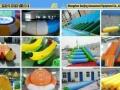 支架水池游泳池 水上乐园设备 水池滑梯 水上玩具