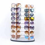 16付双排眼镜展示架 太阳镜展示架 木头眼镜展示架 工厂直销批发