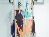 北京新款女装唯姿诺棉麻系列夏装品牌尾货女装走份一手货源