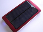 新款太阳能移动电源10000MA大容量通用充电器 手机充电宝