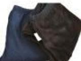仿牛仔保暖裤 加厚加绒九分打底裤女冬保暖