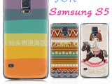 三星手机壳 galaxy S5手机壳 9600彩绘壳保护套 礼品