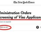 美国签证审核全面加强!刨根问底免签变难!