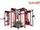 360多功能综合训练器 力健健身器材 健身俱乐部高档运动设备