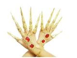 肚皮舞饰品手链手环印度舞指套 千手观音指甲套舞蹈配饰品特价