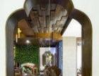 西安口碑较好的中式禅意餐厅设计-宝鸡青阶茶室会所