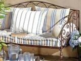 【铁艺家具】欧式卧室田园风格铁艺沙发椅子