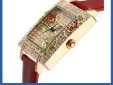 手表厂家供应时尚款/陶瓷表/塑胶款/钢壳钢带款手表批发
