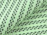 2015新款 绿黑格子色织提花面料 爆款女装外套服装面料 服装布