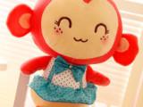 扬州厂家直销 可爱嘻哈猴毛绒玩具 情侣猴子车饰挂件毛绒娃娃