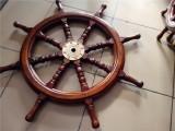 船舵挂墙装饰复古壁挂房间餐厅墙上装饰品实木船舵方向盘领航舵