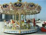 河南飞豹供应转马豪华转马适合商场公园游乐场的游乐设备