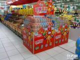 超市堆头侧柜包柱终端陈列展示柜制作