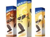 奥利奥巧轻脆 薄片夹心饼干 提拉米苏味 104g/盒 休闲零食可