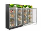 继智能全自动冰淇淋自助投币式售卖机走俏市场后无人超市真来了