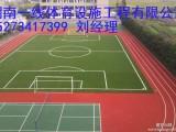 湘西保靖县塑胶跑道专业施工单位 价格最优惠湖南一线体育