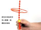 飞天仙子 儿童广场玩具户外手动旋转飞碟 飞盘/ 手推飞碟