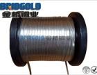 镀锡铜散热带 LED灯散热组件 铜编织散热带