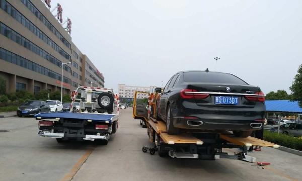 4S店修理厂二手车交易专用一拖二蓝牌黄牌清障车低价转!重庆