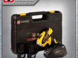 易耐特正反调速充锂电池双电版电钻塑箱