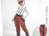 时尚2013新款女童羽绒裤 冬装外穿加厚长裤 韩版儿童灯芯绒保暖裤