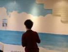 【立夫墙绘】泉州墙绘,文化墙彩绘,地中海墙绘