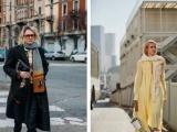 秋季搭上一条茉菲丹斯时尚百搭丝巾很撩风
