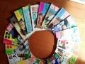 多年收藏百十余本故事会,故事大王,童话大王等,保存