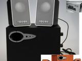 欧那特YD-211 木质2.1多媒体有源电脑音箱 usb 低音炮音响