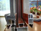 定制门窗隐形防蚊纱窗纱网断桥铝合金塑钢窗平开窗推拉