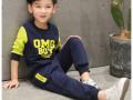 四五岁小朋友穿的秋装加绒卫衣打底衫批发德州最低价儿童服装批发