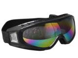 防尘防风防冲击眼镜 防护眼罩 彩虹色镜片 护目镜 电焊镜 滑雪镜