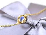 【新品】简慕 天然水晶 轻珠宝 月光石手