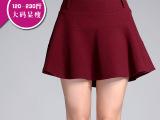 2015秋季新款大码半身裙 胖MM欧美时尚新品短裙伞裙一件代发8