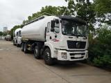 东风前四后八28方粉粒物料车 散装水泥运输车