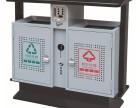 济宁分类垃圾桶镀锌钢板,户外环卫垃圾桶模压玻璃钢大量批发