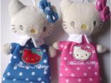 厂家供应KT猫/加菲猫毛绒笔袋新款 广告笔袋