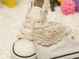 【厂家直销】2013秋季新款韩版外贸儿童帆布鞋