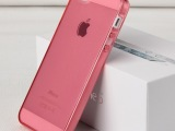 厂家批发 iphone4 5s手机保护套 全透明 TPU手机壳