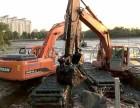 安庆市大观区水上挖机出租沼泽地挖掘机租赁