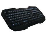 工厂直接批发狼蛛AULA-八荒多媒体背光有线游戏键盘