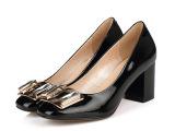 2014新款真皮女鞋批发厂家直销浅口单鞋女工作鞋一件批发高跟女鞋