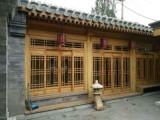 成都火锅店中式门窗厂,实木花格门窗厂