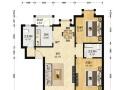 碧桂园小区C区 精装二居室 中等楼层 碧桂园性价比高