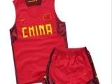 中国男篮球服 国家队篮球服 姚明篮球服套