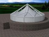 景美膜结构专业提供膜结构制造——湖北膜结构景观工程