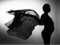 透明元素 超美孕妇写真照
