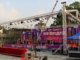 嘉兴低价出租LED屏,灯光音响,舞台桁架气球拱门