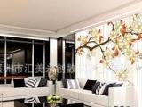 深圳DIY家居背景墙贴 家居墙纸定做 个性墙纸来料加工